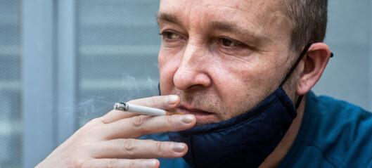 Studie trukket tilbake: Forskere som fant ut at røyking dempet risikoen for korona-smitte, hadde bånd til tobakksindustrien