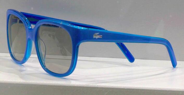 Design 3D-brille fra firmaet EX3D Eyewear. Beskytter også mot UV-stråling. (Foto: Arnfinn Christensen)