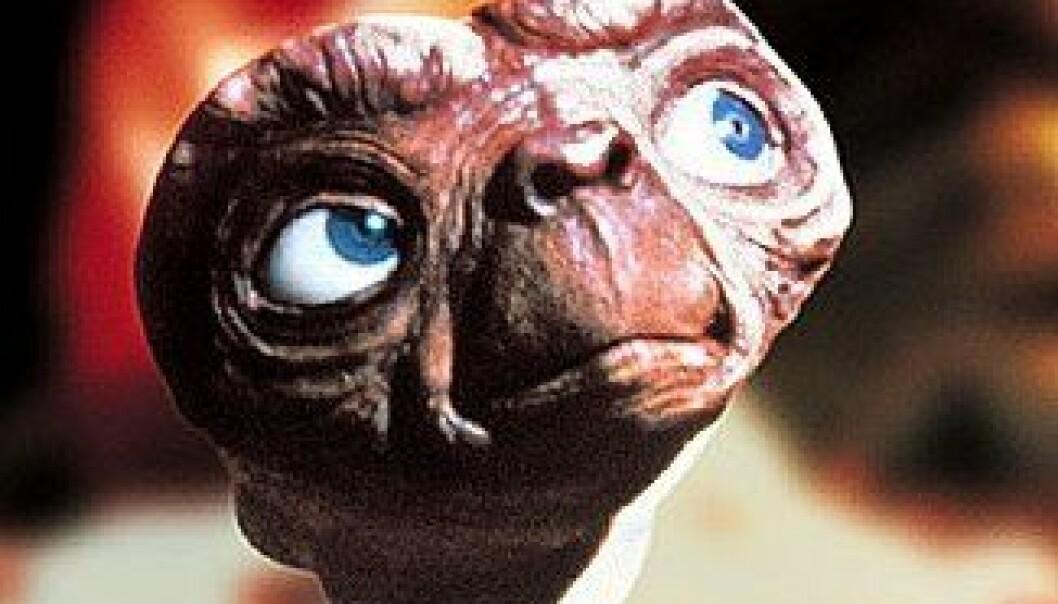 Jorden sett av E.T.
