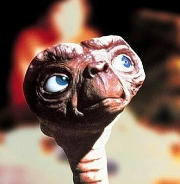 """E.T. fra Universals film E.T. The Extra-Terrestrial (1982)."""