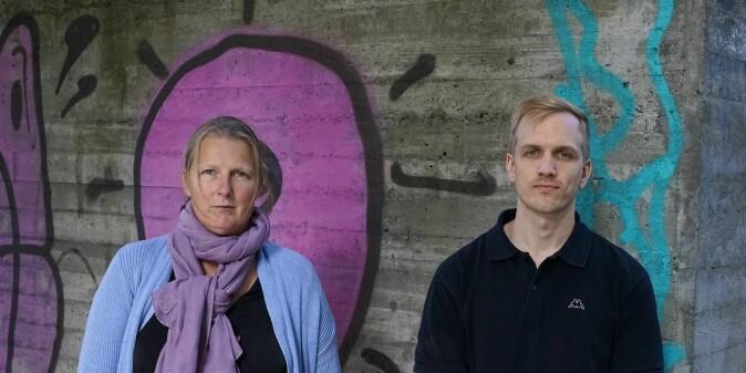 NOVA-forskerne Elisabeth Ugreninov og Vegar Bjørnshagen har gjennomført studien.