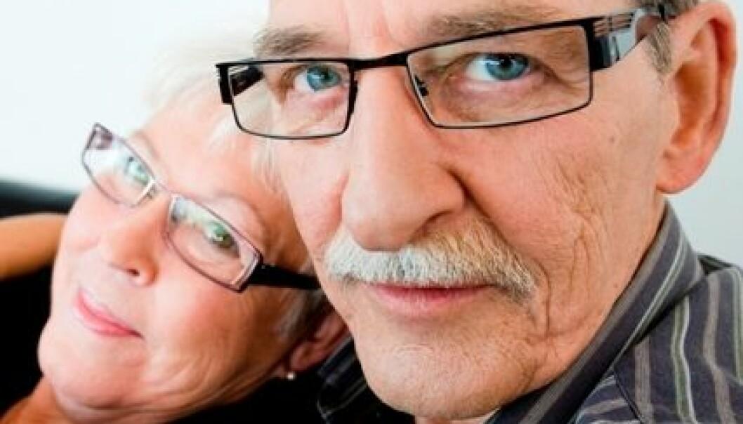 Ektefeller i Norge ønsker å få mer tid sammen som pensjonister. (Illustrasjonsfoto: www.colourbox.no)