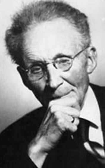 Vilhelm Bjerknes er den moderne meteorologiens far. (Foto: Wikimedia Commons)