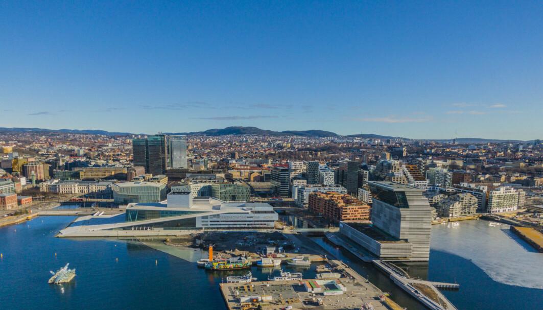 Oslo fikk et netto flytteunderskudd i 2020.