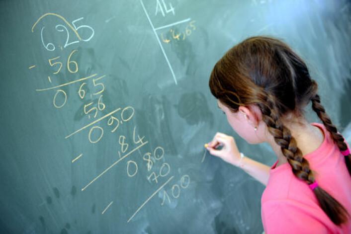 Det er økende oppmerksomhet om dyskalkuli - alvorlige lærevansker i matematikk. (Foto: Colourbox)