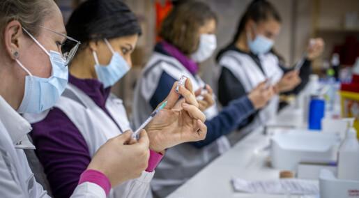 Helsepersonell etterlyser mer forskning på plager fra munnbind-bruk