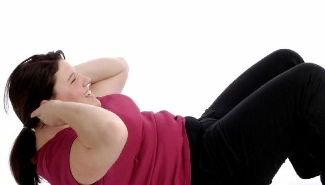Overvektige har god effekt av trening – om dei orkar