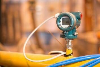 Måling av viktige produksjonsparametrer er alfa og omega i Smart Produksjon. Denne trykkmåleren beregner vekt av pulver og pellets under transport ved hjelp av en metode patentert av Tel-Tek og Rolls Royce. (Foto: Tel-Tek)