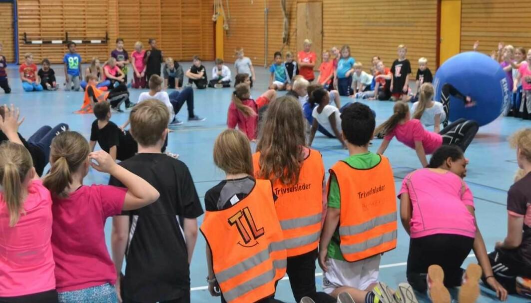 «Trivselsledere» er en organisering hvor noen elever velges ut til å ha ekstra ansvar for å arrangere og inkludere alle i aktiviteter i friminutter.