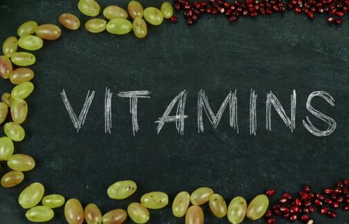 Uten vitaminer dør vi