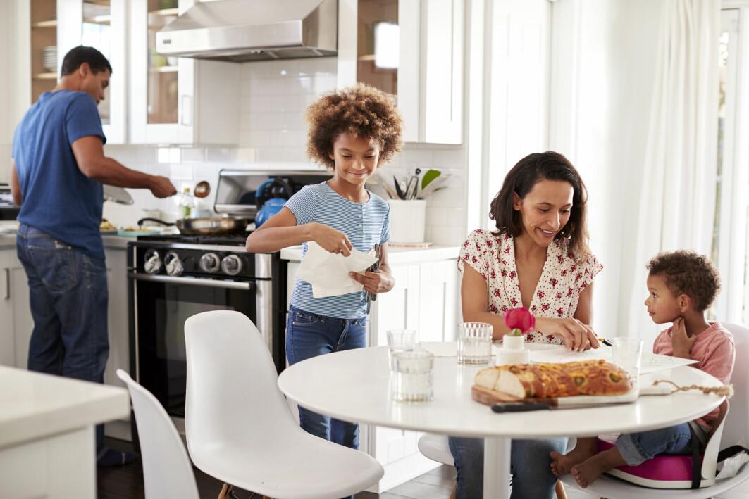 Barn av innvandrere har vokst opp i et samfunn der det er vanlig at kvinner er i jobb også mens de har små barn, og at menn deltar i arbeidet hjemme.