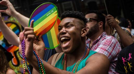 Amerikanske tenåringsgutter har blitt mer åpne om sin seksuelle orientering