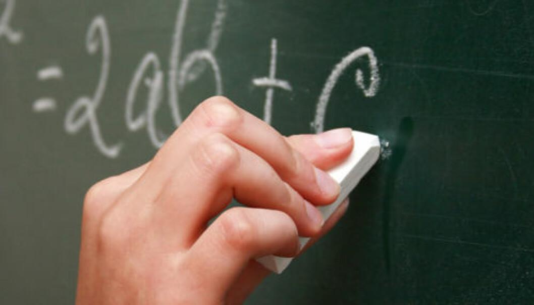 I Norge har nesten én av fire norske elever så dårlige matematikkunnskaper fra ungdomsskolen, at de kan få problemer med å fullføre videregående skole og å greie seg i arbeidslivet, viser undersøkelser. Colourbox.com