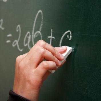 Matematikk. (Foto: Colourbox.com)
