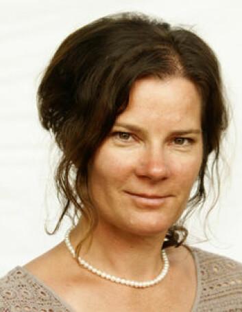 Caroline Tovatt ved Linköpings universitet. (Foto: Linköpings universitet)