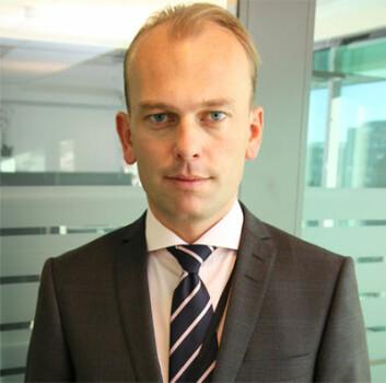 Kristian Dahlberg Hauge er statssekretær i Arbeids- og sosialdepartementet. (Foto: ASD)