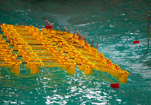 Researchers to test a solar farm at sea