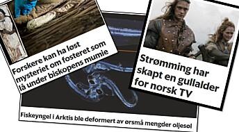 Forskningspodden: Følsom torsk, gullalder for norsk TV og biskop-mysterium er løst