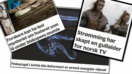 Forskningspodden: Følsom torsk, biskop-mysterium og gullalder for norske TV-serier