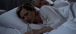 Dårlig søvn kan stå bak seksuelle problemer i overgangsalderen