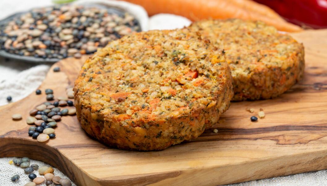 Linseburgeren og andre vegetariske retter kommer for fullt inn i norsk kosthold.