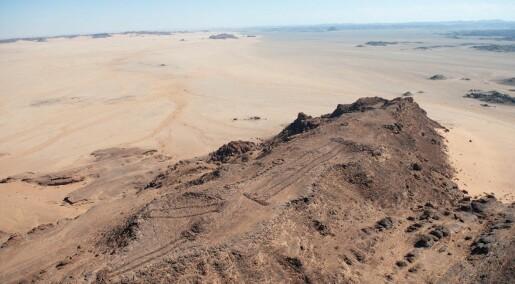 Over 1000 urgamle stein-byggverk er funnet på Den arabiske halvøy