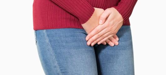 Kvinner som sliter med urinlekkasje, har oftere angst og depresjon