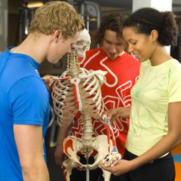 Anatomiundervisning. (Foto: NIH)