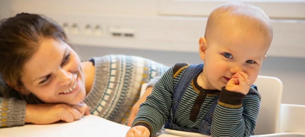 Babyer som fikk mer fisk utviklet seg bedre sosialt