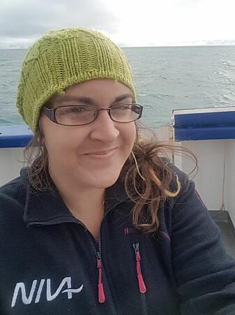 Amy Lusher forsker på miljøgifter i NIVA.