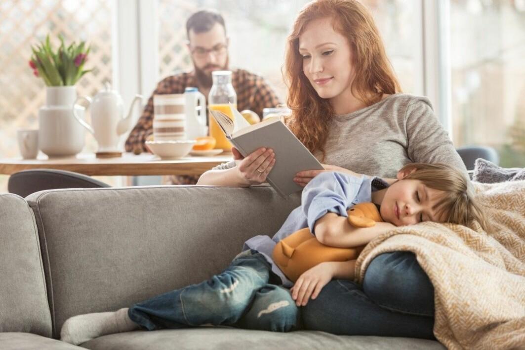 Foreldres leseglede smitter over på barnas leseferdigheter, viser denne studien.