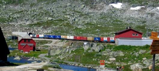 Er det best for miljøet å frakte varer med tog?