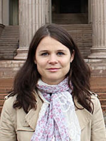 Vibeke Blaker Strand ved Institutt for offentlig rett ved Universitetet i Oslo. (Foto: UiO)