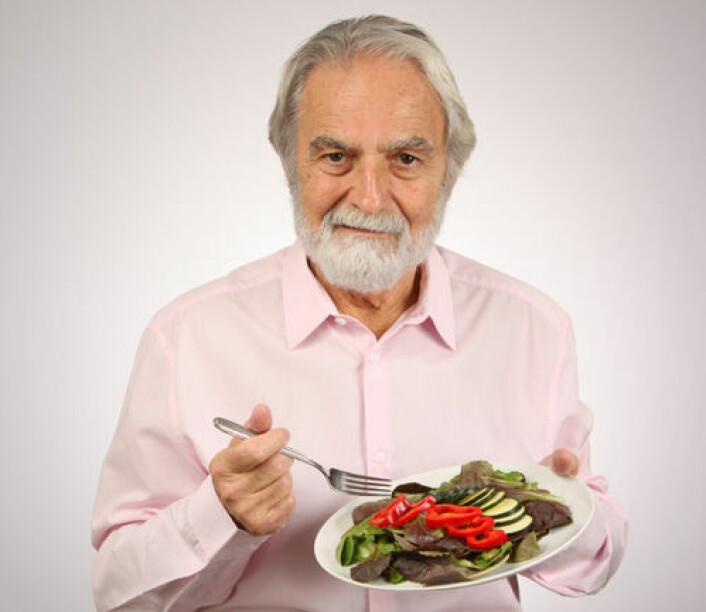 Svenske 70-åringer med et kosthold tilsvarende middelavsdietten lever lenger enn sine jevnaldrende. (Foto: iStockphoto)