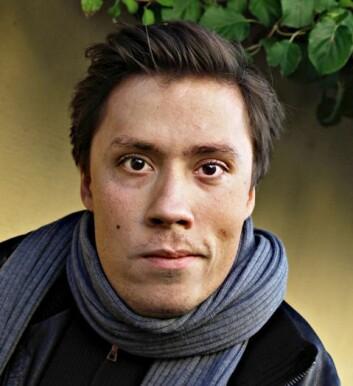 Jan Grue. (Foto: Rolf M. Aagaard/Gyldendal)
