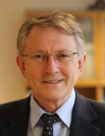 Direktør i Norges forskningsråd, Arvid Hallén. (Foto: Anita Haslie)