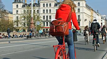 - Må motivere dem som nesten sykler