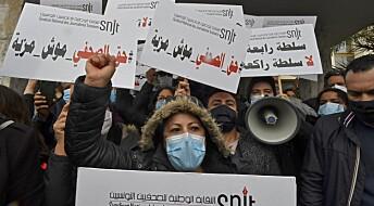 Hvordan takler journalister i Midtøsten politisk press?