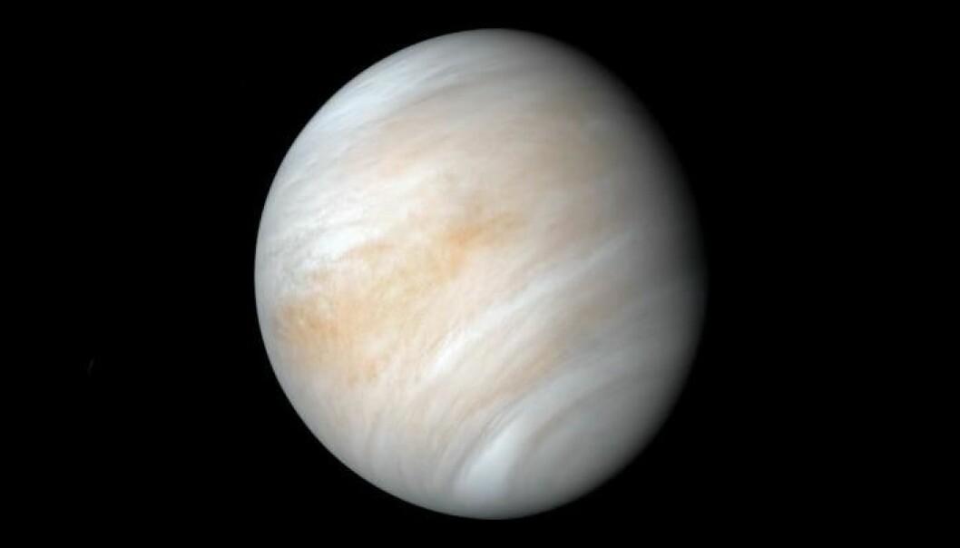 Venus rekker nesten to soloppganger før den har snurret en gang rundt seg selv.