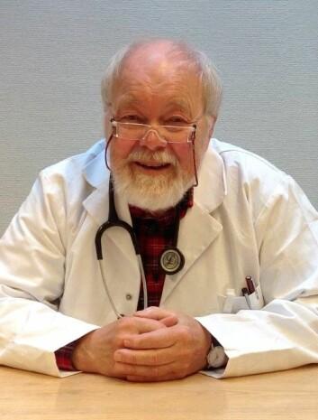 Dansk professor i hvit legefrakk. (Foto: Glostrup Hospital)