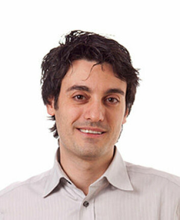 Forsker Gianluca Tognon ved Sahlgrenska akademin, Göteborgs universitet. (Foto: Cornelia Schmidt)