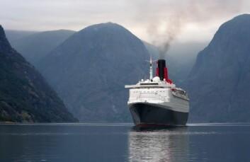 Skipene som kommer inn norske fjorder forurenser lufta. (Foto: Shutterstock)