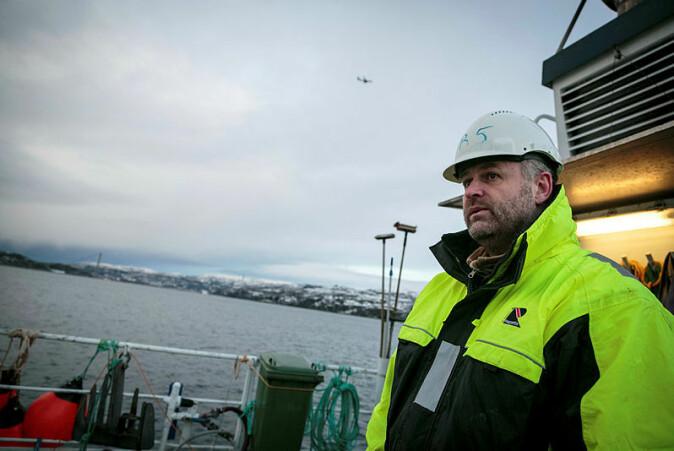 Forsker Bjørn Krafft er hovedforfatter på rapporten om gytefelt i Nordsjøen som nylig har blitt publisert.