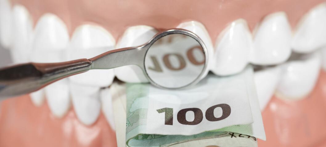 Svensker dropper tannlegen på grunn av prisen