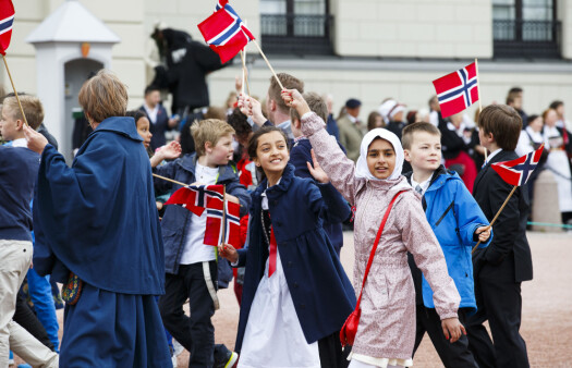 The church and chauvinistic nationalism play a small role on May 17 - Norway's national day