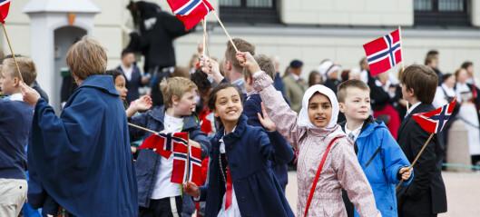 Lite kristendom og sjåvinistisk nasjonalisme på 17. mai
