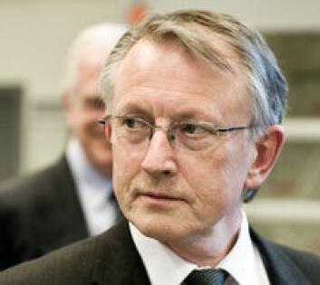 Arvid Hallén sier at han ønsker seg en mer kritisk forskningsjournalistikk. Foto: Andreas B. Johansen