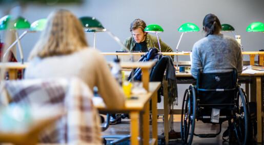 Rekordmange ville bli student i korona-året 2020