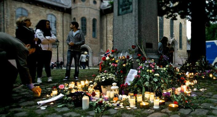 Før 22. juli var det i snitt ti saker relatert til innvandring eller innvandrere hver dag, i månedene etter terroren var det sju saker. (Foto: nrkbeta/Flickr)