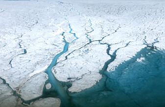 Havet stiger, men smeltevann fra is på land kan bli halvert